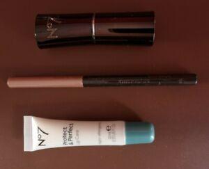 No 7 Lipstick, Lip Pencil,protect & perfect Lip Care. Set