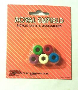 Chain Bolts Royal Enfield NOS Multicolor Old School BMX Bicycle GT HARO HUTCH CW