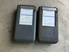 2 1959s Moore Portable Receipt Invoice Register Machines