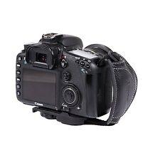 MQ-GS8 Leather Hand Grip Wrist Strap for Universal DSLR Cameras Canon EOS Nikon
