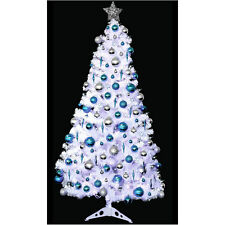 New Snow White Christmas Decoration Tree 6ft