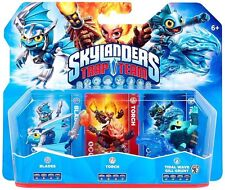 Skylanders Trap Team >> Blade, Torch, Gill Grunt << TRIPLE PACK-NUOVO/NEW