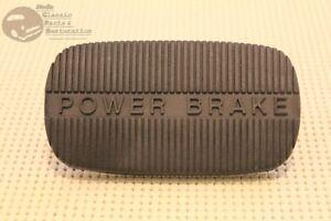 58-65 Chevy Impala 58-63 Corvette 62-67 Nova Power Brake Rubber Pedal Pad New