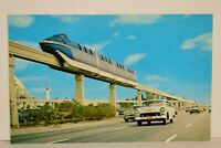 "Vintage Postcard Disneyland Tomorrowland Monorail ""Highway in the Sky"""
