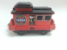 Thomas Train Take N Play Musical Caboose Topham Hat Die Cast Travel 2010 Gullane