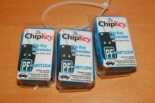 Lot of 3 Hy Ko 18GM711 Flipkey Gm 3-Btn Pf-Gm711-Sw ChipKey