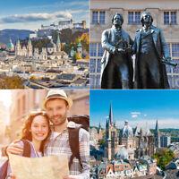6 Tage Städtereise 2P Hotel + Frühstück + Kinder Frei + 32 Hotels - 20 Städte