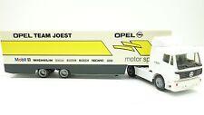 1:87...Herpa--LKW Mercedes- Benz Sattelzug Opel Team Joest // 4 J 741