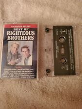 BEST OF THE RIGHTEOUS BROTHERS Unchained Melody CASSETTE TAPE TESTED