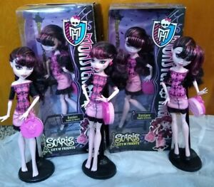 ☠️MONSTER HIGH DOLL DRACULAURA SCARIS PROTOTYPE TEST SHOT EMPLOYEE SAMPLE LOT☠️