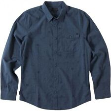 O'Neill Timber Navy Long Sleeve Shirt Sz Medium