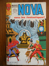 Semic MARVEL DC Comics FRANCE Spiderman BD LUG Super Heros NOVA n°55 Aout 1982