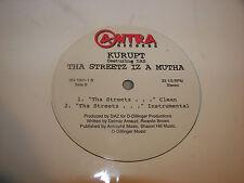 """Kurupt Tha Streetz Iz A Mutha w/Daz 12"""" Single NM Antra AN-1001-1"""