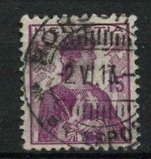 Switzerland 1909 SG#252, 15c Mauve Used #A69923