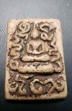OLD BUDDHIST TEMPLE AMULET FROM THAILAND