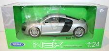 Welly NEX 1/24 Scale 22493W - Audi R8 V10 - Silver
