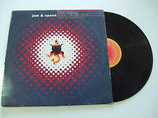 "Jam & Spoon Feat. Plavka – Right In The Night - Disco 12"" Vinile Germania 1993"