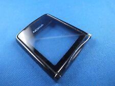 Original Nokia 8800 Schwarz Oberschale Front Cover Display Glas Frontglas Black