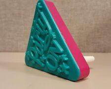 Party On Plastic Ratchet Noisemaker Celebration Sounds Pink & Blue Vintage Style