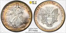 1994 American Silver Eagle ASE PCGS MS68 - AMAZING UNIQUE PCI RAINBOW TONING!