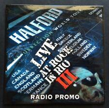 Halford – Resurrection World Tour - Live At Rock In Rio III (Radio Promo) CD