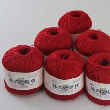 AIP Thread No.8 Cotton Crochet Yarn Craft Tatting Hand Knit Embroidery 50gX6 #13