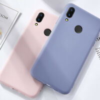 For Xiaomi Redmi Note 8 7 Pro Slim Soft Silicone TPU Shockproof Back Case Cover