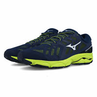 Mizuno Mens Wave Ultima 11 Running Shoes Trainers - Black Sports Breathable