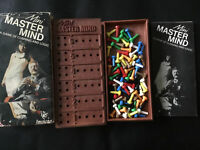 Vintage Invicta Travel Mini Mastermind 1972 Game 100%.good condition with rules
