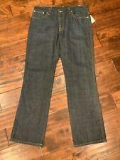 """Nudie Men's """"Slim Jim"""" Slim Fit Dark Wash Jeans, Size 38"""