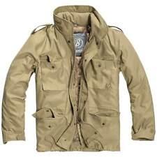 Brandit M65 Classic Jacket Mens Field Warm Travel Military Army Coat Parka Camel
