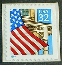 US Scott 3133 32¢ Flag over Porch MNH SA VF