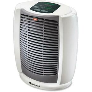 Honeywell Energy Smart Cool Touch Portable Lightweight Compact Heater, White