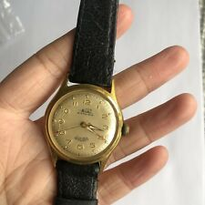 Vintage Porta Amphibia 17 Rubis Mens Mechanical Dress Watch