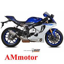 Mivv Yamaha Yzf 1000 R1 2015 15 Terminale Di Scarico Marmitta Suono Inox Moto