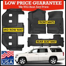 Husky Liners X-Act Contour 2015-2019 Chevrolet Suburban Floor Mats Bundle BLACK