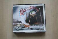 THE WAR OF THE WORLDS JEFF WAYNE'S MUSICAL VERSION 2cd FAT BOXSET ALBUM