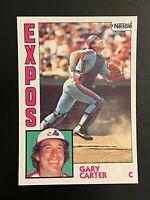 1984 Topps Nestle Gary Carter #450 Montreal Expos Hall of Famer