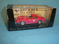 93B Best SL01 Ferrari 275 GTB/4 Coupé Days 83 Rojo GT Ed Limited 1:43