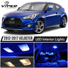 Blue Interior LED Lights Package Kit For 2012-2017 Hyundai Veloster