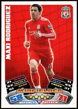 Maxi Rodriguez Liverpool #136 Topps Match Attax Football 2011-12 Card (C208)