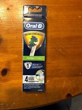 Braun Oral-B Floss Action 4 Replacement Brush Heads NIP