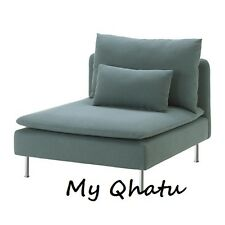 Ikea Soderhamn Cover One Seat Section Slipcover Finnsta turquoise Discontinued