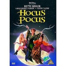 HOCUS POCUS walt disney DVD