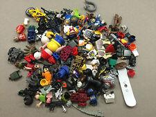 HUGE Lot of 1/2 pound of Non Lego Mega Blok Minifigs minifigures minifig I212