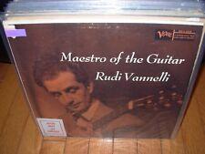 RUDI VANNELLI maestro of the guitar ( folk )