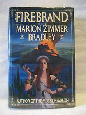 Marion Zimmer Bradley FIREBRAND vintage fantasy fiction hardcover book 1987 HC !