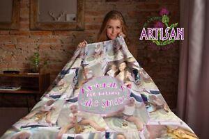 Personalised Photo Blanket | Memory Blanket | Pet Blanket | Baby Blanket | Throw