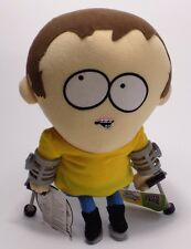 "South Park Talking Jimmy Plush Doll 10"" Comedy Central 2002 With Tags Crutches"
