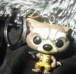 """Rocket Raccoon 1"""" Mini Keychain"""